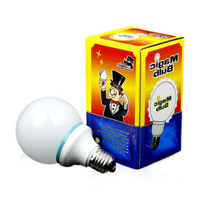 New Magic Light Bulb Addams Family Uncle Fester Trick Costume LED