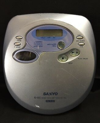 Sanyo Cdp-1100 Portable Cd Player Discman