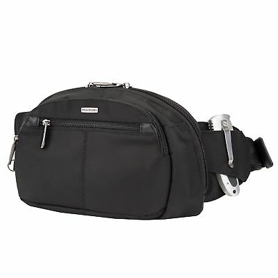 Travelon Anti-Theft Concealed Carry Waist Pack Black
