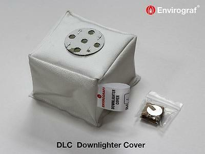 Envirograf DLC Fire Protection Covers for Downlighters  - 1 Hour Rated