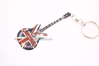 RGM9958 Noel Gallagher Oasis Guitar Stainless Steel Keyring from RGM