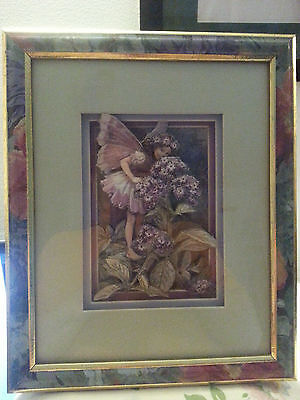 Framed paper tole picture