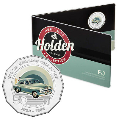 NEW RA Mint Holden Heritage FJ 50 Cent Coin Pack