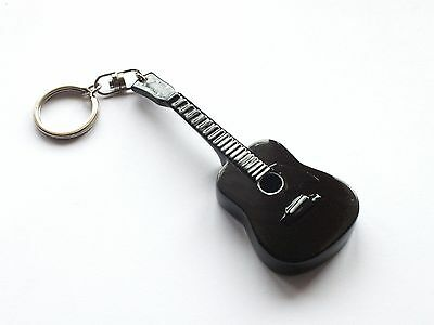 RGM9982 Johnny Cash Guitar Keyring from Rock Guitar Miniatures