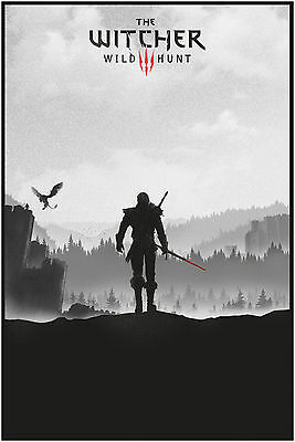 The Witcher Wild Hunt Large Maxi Poster Art Print 91x61 cm