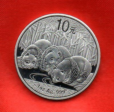 Chinese Panda 10 Yuan Coin In Proof Condition