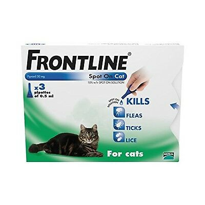 FRONTLINE Spot On for Cats 3 Pipettes