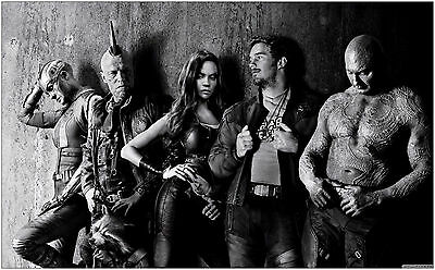 Guardians Of The Galaxy Movie Large Poster Art Print 91x61 cm