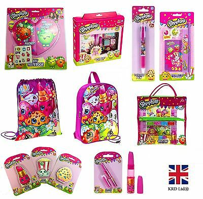 SHOPKINS SCHOOL STATIONARY Erasers Pen Party Bag Filler Kids Birthday Girls Gift
