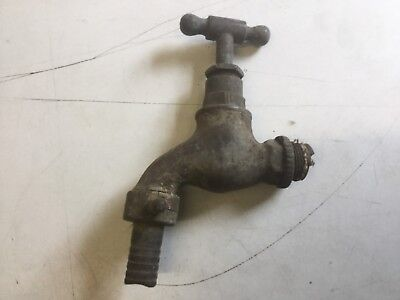 Small Vintage Reclaimed Brass Tap