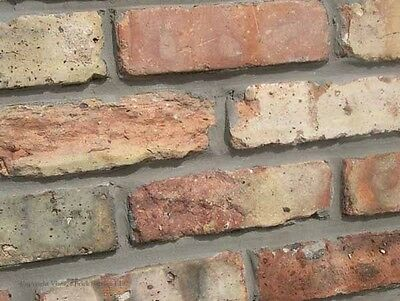 ORIGINAL OLD RECLAIMED BRICKS  THIN CUT VENEER natural clay sustainable product