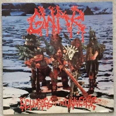 """Autographed/Signed GWAR """"Scumdogs of the Universe"""" CD Balsac"""