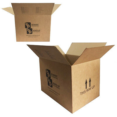 "Double Wall House Office Moving Removal Boxes Strong Packing Box 18"" x 13"" x 13"""
