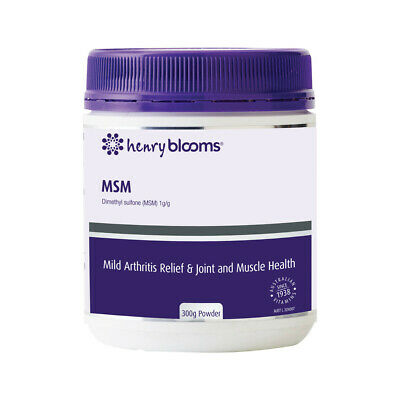 Blooms MSM Powder 300g For Joint & Muscle Pain Relief