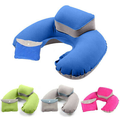 Memory Foam U Shaped Travel Pillow Neck Support Head Rest Airplane Car Cushion