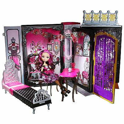Ever After High Briar Beauty Festa Del Trono Playset Libro Thronecoming Mattel
