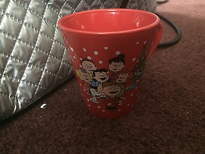 Two Peanuts Christmas Mugs - ZAK Designs