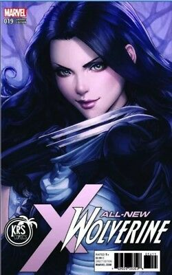 All New Wolverine 19 Stanley Artgerm Lau  Krs Color Variant Nm