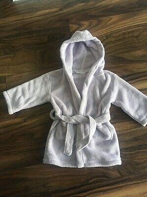 Baby Girls Robe 18-24 Months Little White Company