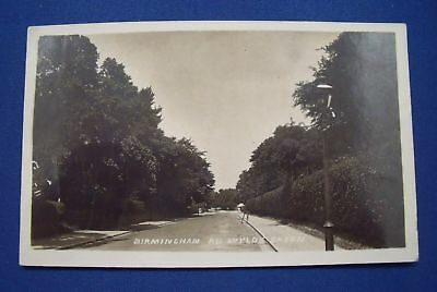 BIRMINGHAM ROAD WYLDE GREEN Sutton Coldfield Real Photo Postcard 1920s Post-WW1