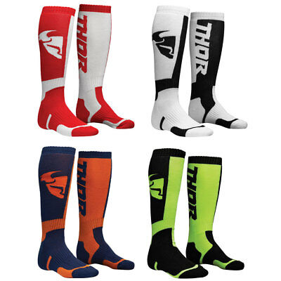 2018 Thor Youth MX Socks Motocross Offroad Foot Wear - Choose Color