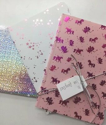 Gift. Tesco A6 Size Notebook. Enchanted Collection Set. Pack Of 3 Books