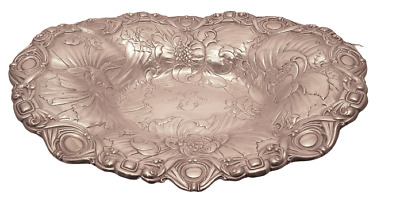Gorham Sterling Floral Centerpiece / Fruitbowl Large