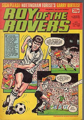 (-0-) Roy Of The Rovers Comic 17Th March 1984