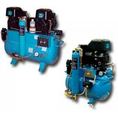 TECH WEST DENTAL Ultra Clean Lubricated Air Compressors
