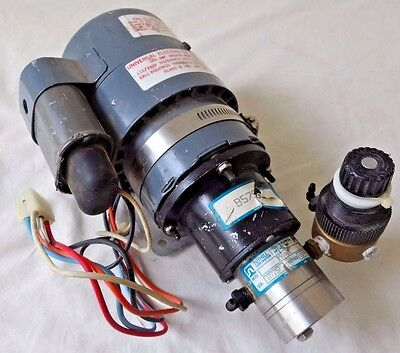 UNIVERSAL ELECTRIC CO. MOTOR 10 HP w Tuthill Corp. Magnetic Pump Model #B9006M