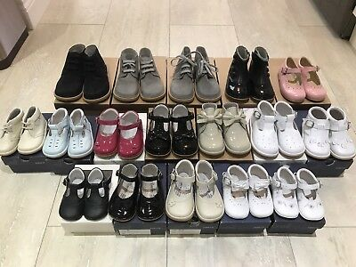 Job Lot Brand New Baby/Toddler Spanish Designer Leather Shoes