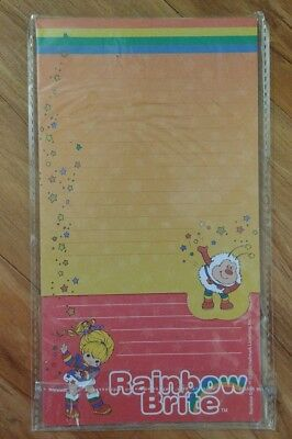 Rainbow Brite Magnetic List Pad