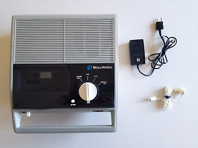 VINTAGE-Bell & Howell Dictation Machine Tape Recorder 2392A Remote/Microphone