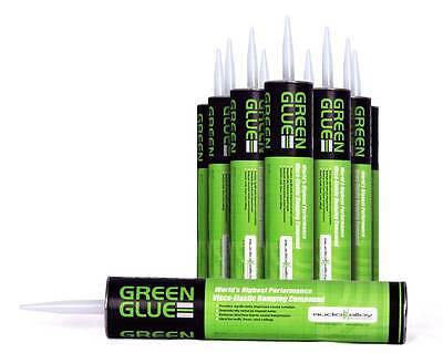 Green Glue Soundproofing Compound Nosieproofing 1 case of 12 tubes