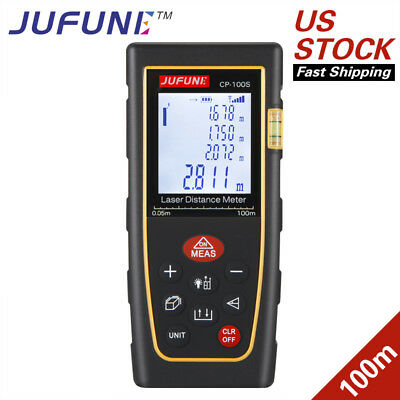 Jufune New CP-100S 100M Digital Laser Distance Meter Laser Range Finders Measure