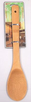 1Pc Bamboo Wooden Spoon -  Kitchen Cooking Baking Tool Mixing Utensils Natural