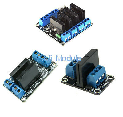 1/2/4 Channel 5v OMRON SSR G3MB-202P Solid State Relay Module For Arduino AM