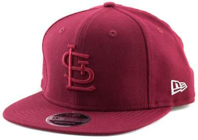 St. Louis Cardinals New Era MLB Team 9Fifty Hat Genuine Baseball Cap New Era