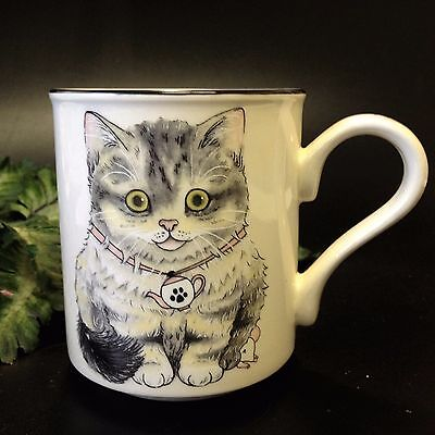 Arthur Wood, England Collectible - KITTEN Ironstone MUG - With Reverse Image