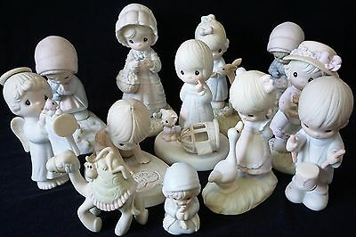 Precious Moments Figurines, Lot,  All in Excellent Condition