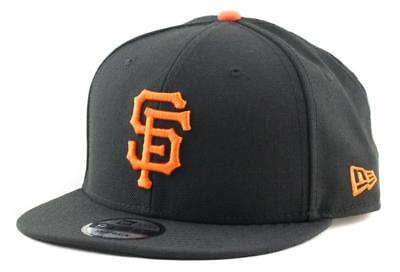 San Francisco Giants New Era MLB Team 9Fifty Hat Genuine Baseball Cap In Black