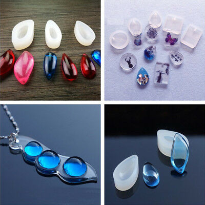 DIY Silicone Pendant Mold Making Jewelry Resin Necklace Manual Mould Craft Tools