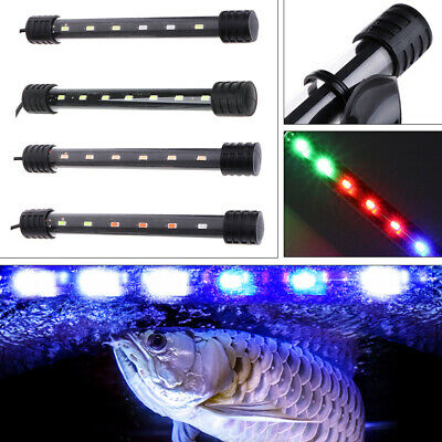 Submersible Waterproof Aquarium Fish Tank LED Light Bar Lamp Strip EU Plug