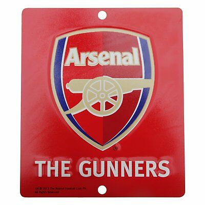 Arsenal FC Coloured Crest Window Sign Official