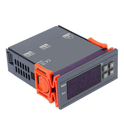 10A Digital Temperature Controller Thermostat 90~250V 110-220V -50~110℃ w/Sensor