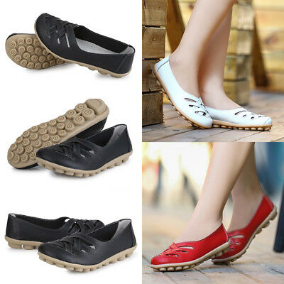 1 Pair Working Gladiator Flats Shoes Split Leather Hollow Out Nurses