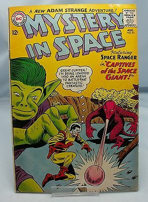 MYSTERY IN SPACE ADAM STRANGE No.93 DC COMICS AUGUST 1964 VINTAGE 1960s COMIC*