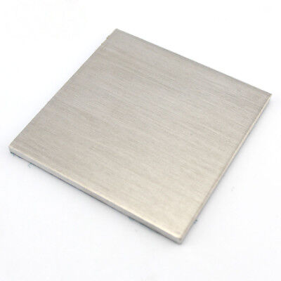 Aluminium Sheet Metal Plate Model Craft DIY 0.3/0.5/1/2mm Thick Choose Sizes