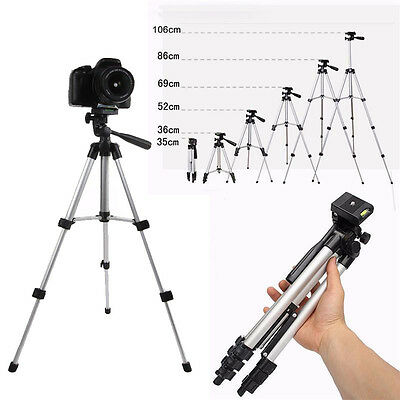 Lightweight Portable Digital Camera Camcorder Tripod Stand for Canon Nikon Sony