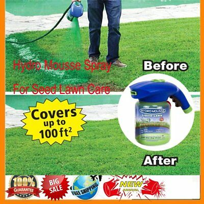 NO Seed  Hydro Mousse Household Hydro  Liquid Spray Device F Seed Lawn Care